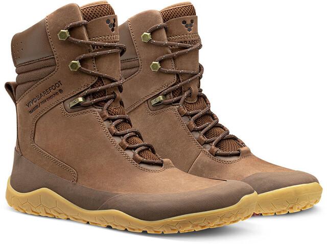 Vivobarefoot Tracker HI FG Leather Shoes Dame Brown